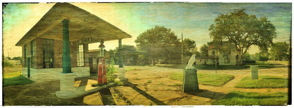 Second service station in Kansas.