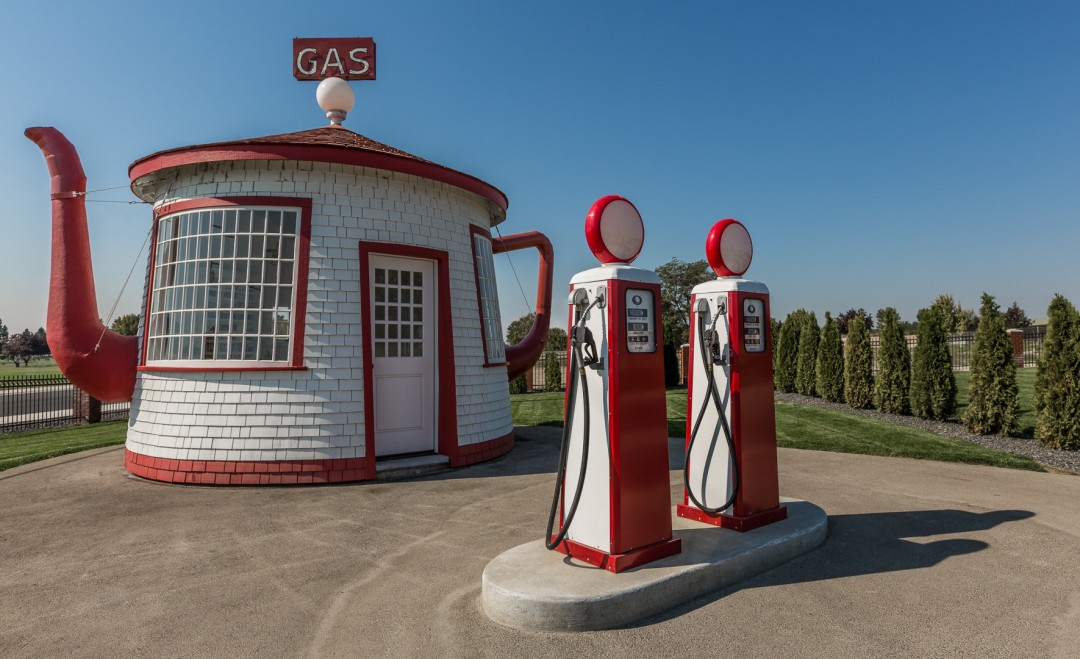 Teapot Service Station