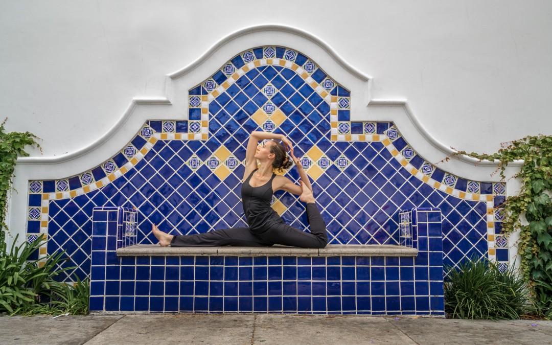 Mermaid Pose in Santa Barbara, CA
