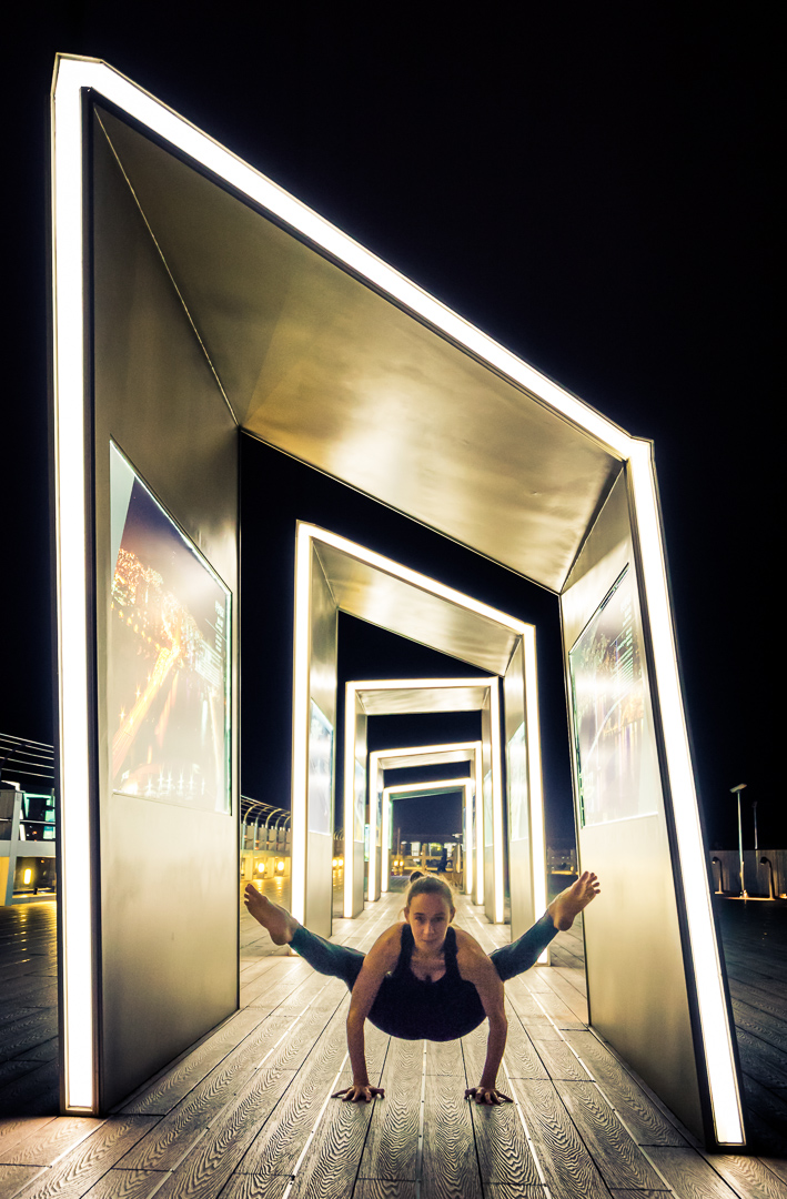 Firefly Pose in Busan, South Korea