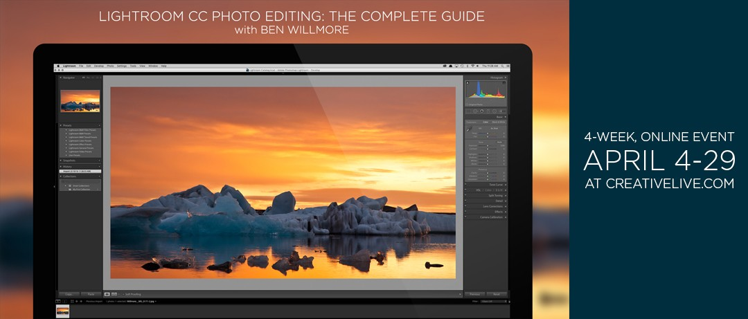 Announcing my 4-Week Lightroom CC Photo Editing Workshop!