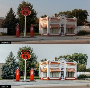 Nebraska Phillips 66-BeforeAfter