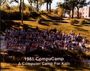 1981 CompuCamp Group Photo