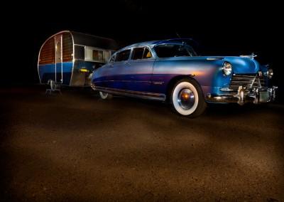 Vintage Hudson & Trailer