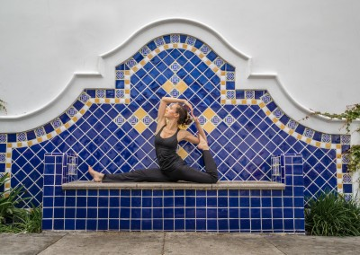 Mermaid Pose in Santa Barbara, CA